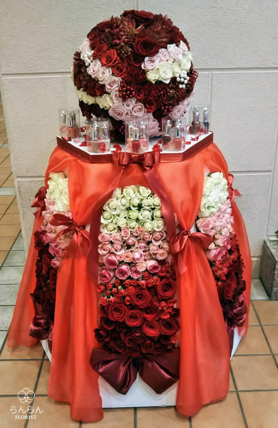 HKT48 冨吉明日香 お祝いスタンド花