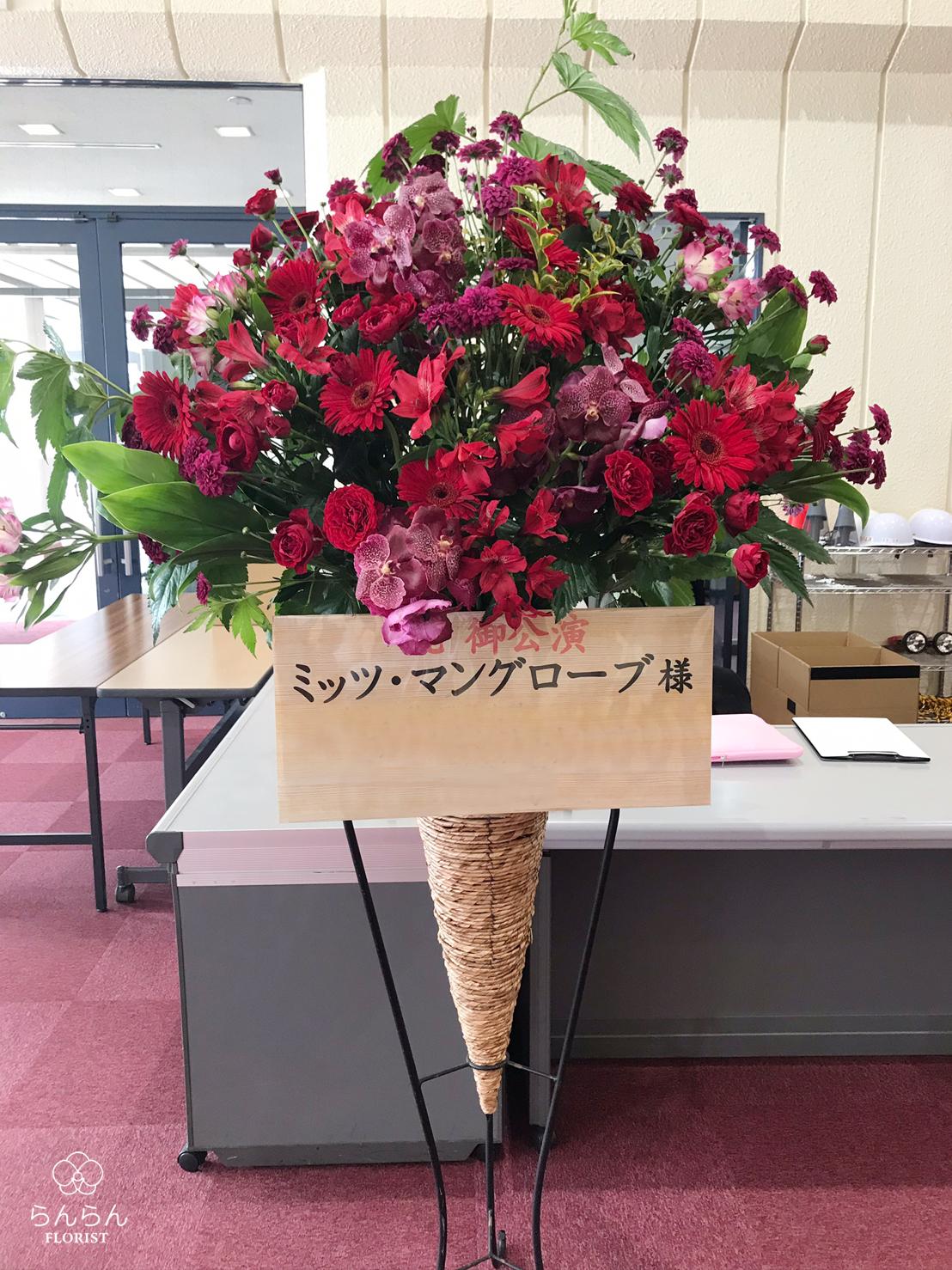 ミッツ・マングローブ お祝いスタンド花