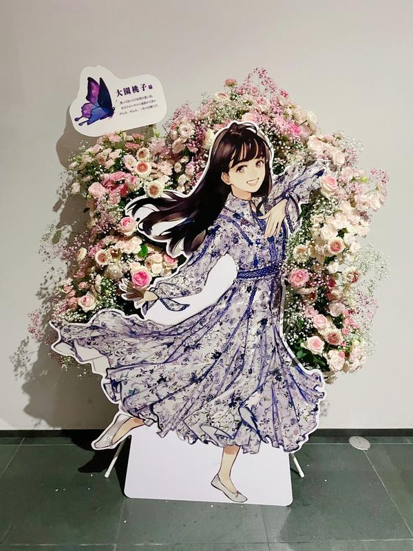 乃木坂46様へお祝いスタンド花を納品しました[公演祝い花]