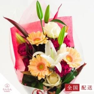 バラ入りアレンジ花束(おまかせ)【全国配送】
