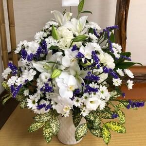 [供花]アレンジメント(洋花おまかせ)【全国配送】
